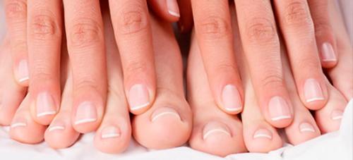 uñas de manos y pies
