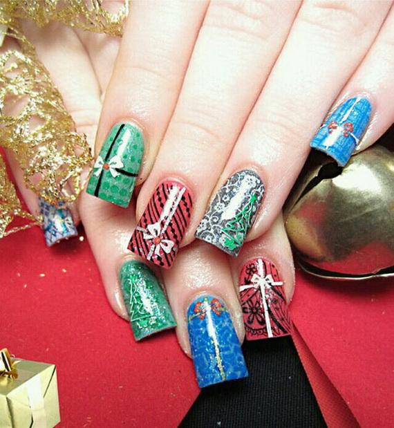 Uñas de Navidad: imágenes con los mejores diseños
