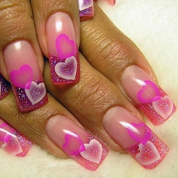 Uñas de San Valentín: diseños y decoración (40 imágenes)