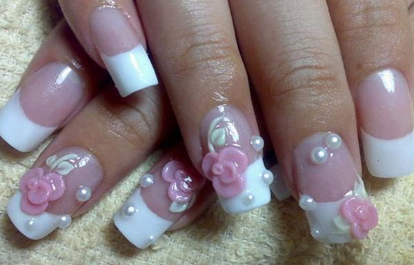 diseño de uñas de acrílico en3d