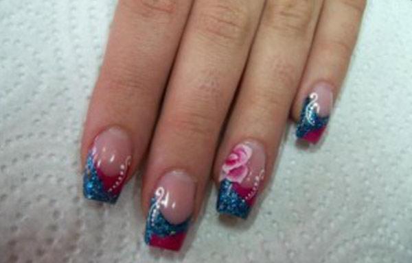 diseño de uñas de acrílico para jovenes
