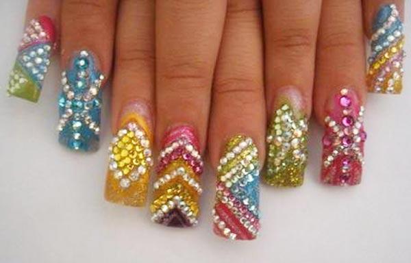 diseño de uñas piedras sinaloa