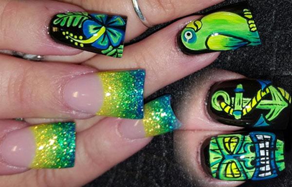 Diseños De Uñas Pintadas Uñasdecoradas Club