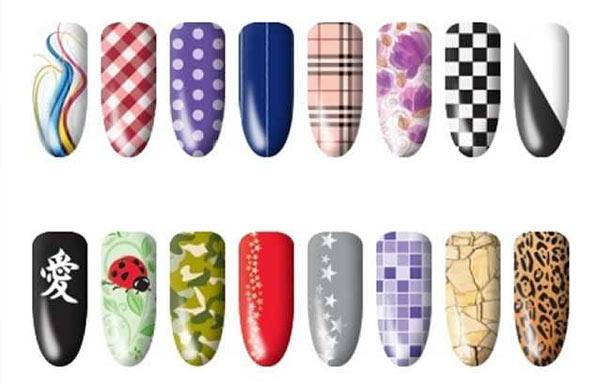 diseños uñas postizas