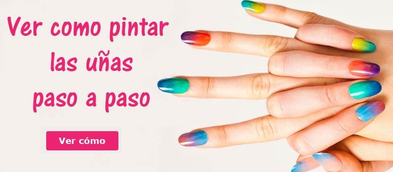 como pintarse uñas