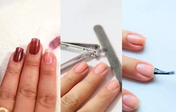 como preparar las uñas