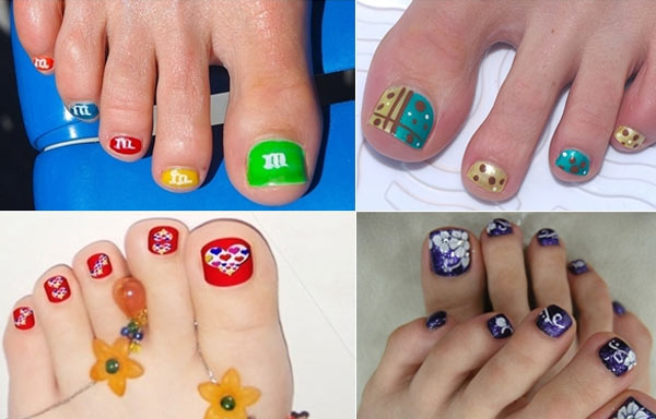 Diseños para uñas de los pies con FOTOS - UñasDecoradas CLUB - photo#41