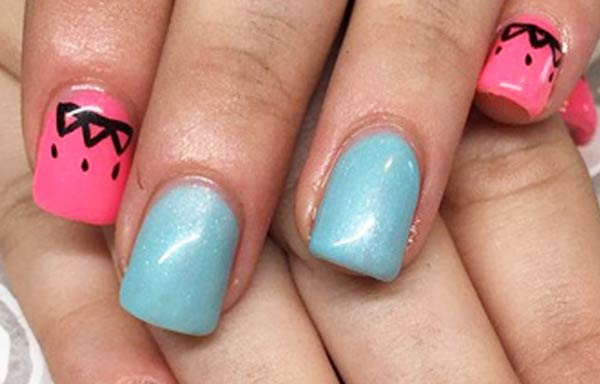 diseños uñas con esmalte semipermanente