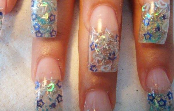 diseño de uñas en fotos - colores