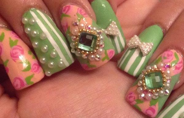 diseño de uñas en fotos - exoticas