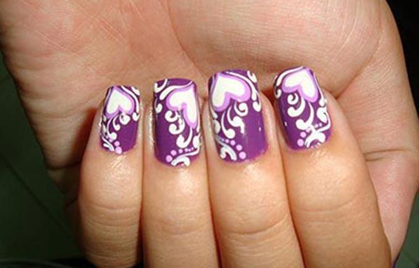 diseño de uñas en fotos - impresas