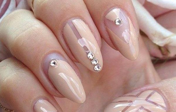 diseño de uñas en fotos - largas