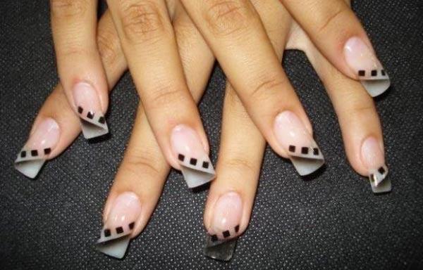 diseño de uñas en fotos - manicura