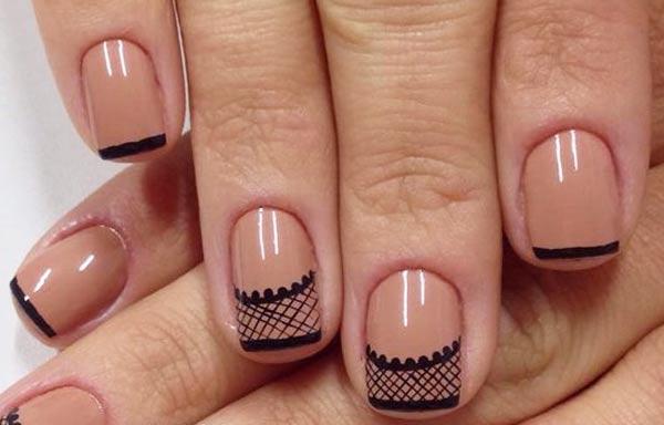 diseño de uñas en fotos - porcelana