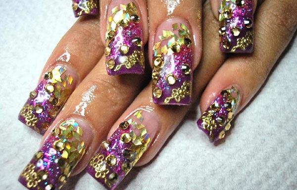 diseño de uñas en fotos - profesional