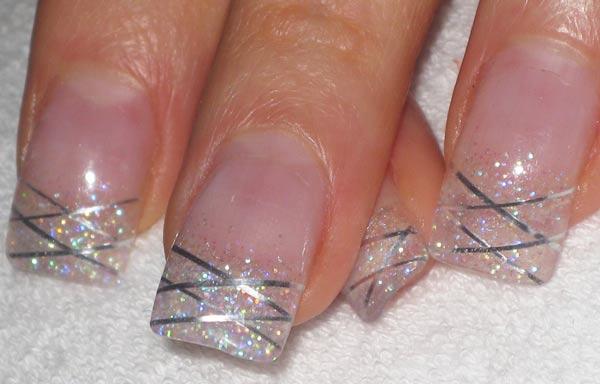diseño de uñas en fotos - sencillas