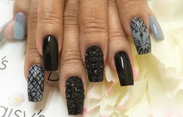 diseño uñas gelificadas