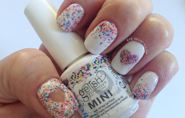 diseño de uñas con gelish boda