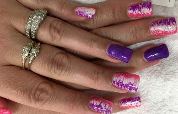 diseño de uñas con gelish gel