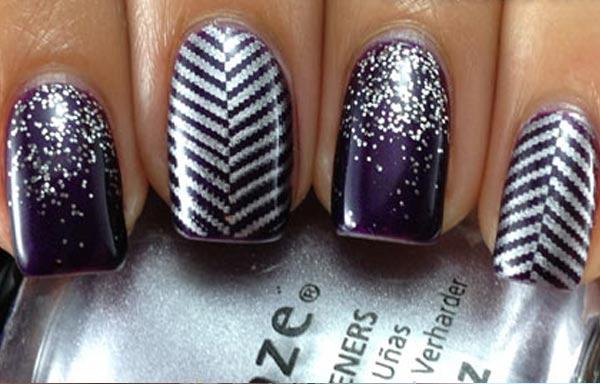diseño de uñas con gelish pintadas
