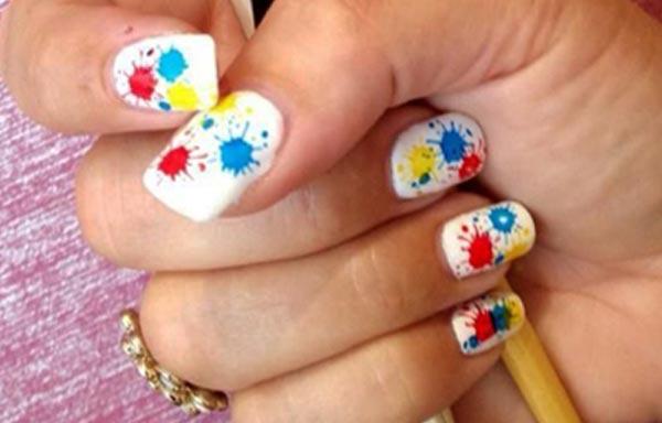 diseño de uñas con gelish verano