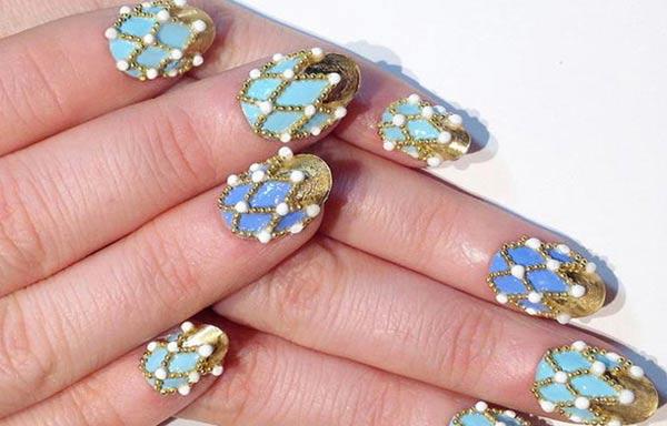 diseños de uñas bonitas 3d