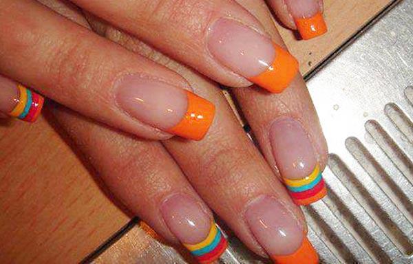 diseños de uñas bonitas de colores