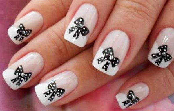 diseños de uñas bonitas porcelana