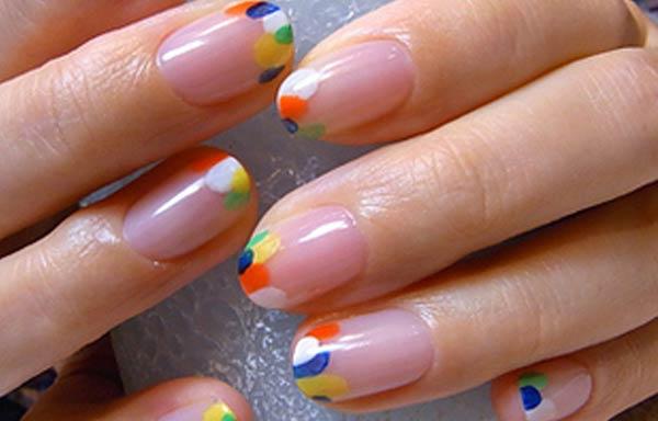 diseños uñas con esmalte collage
