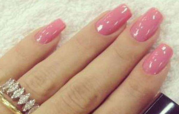 diseños uñas con esmalte gelish
