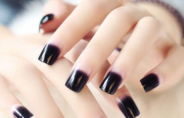 forma uñas cuadradas redondeadas
