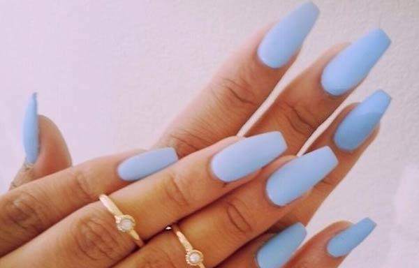 forma uñas ovaladas cuadradas
