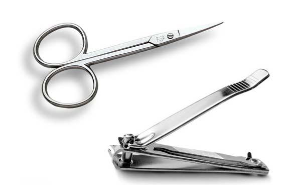 herramientas para cortar uñas