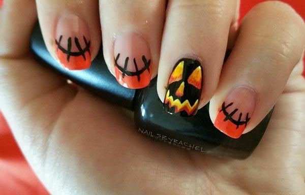 U as de halloween dise os decoraciones im genes u asdecoradas - Calabazas de halloween pintadas ...