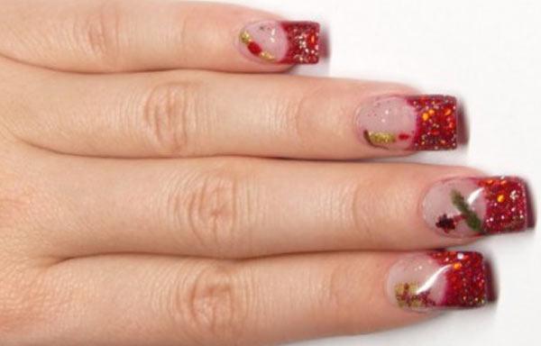 ver diseño uñas glitter