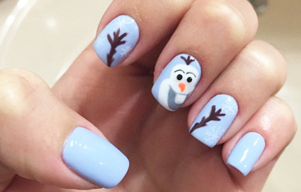 ver diseño uñas invierno nieve