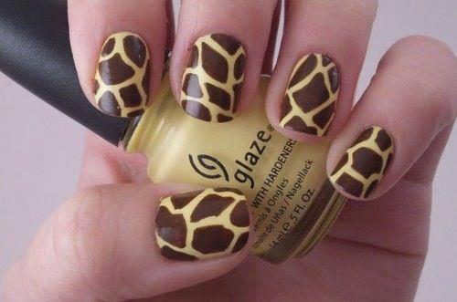 ver diseño uñas leopardo
