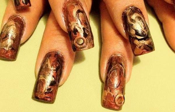 ver diseño uñas modernas largas