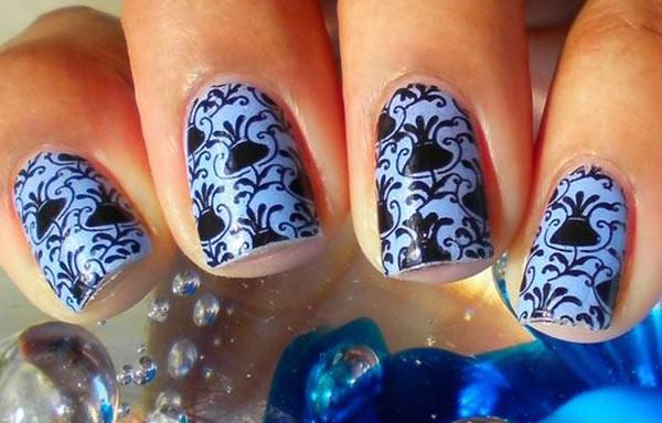 ver diseño uñas de pegatinas