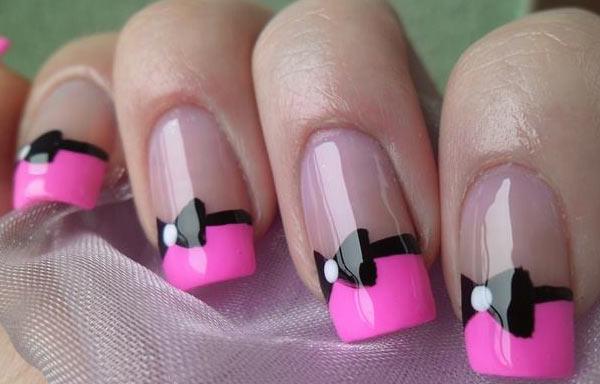 ver diseños uñas de pajarita