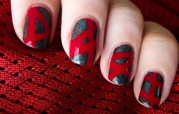 diseño de uñas invierno temporada