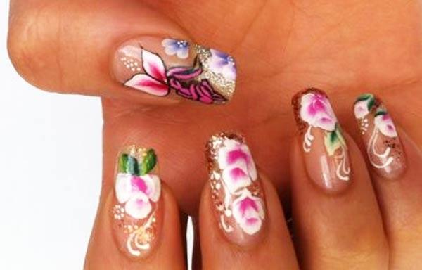 diseños de uñas pinceladas masglo