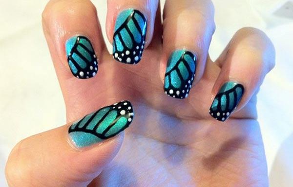 diseños de uñas shellac esmalte