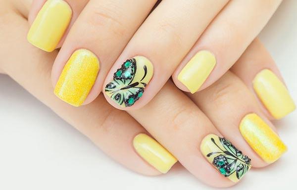 Diseños para manicure para adolescentes