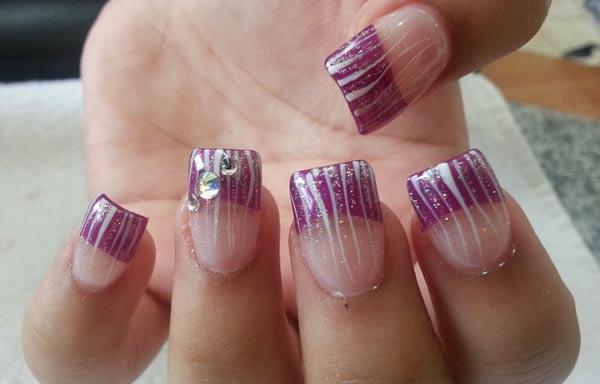 Diseños para manicure bodas