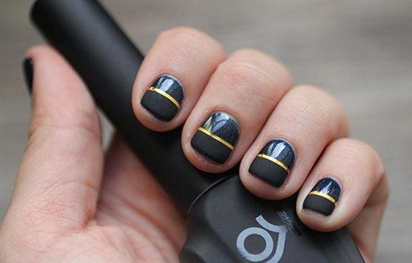 diseños para manicure corta