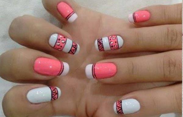 Diseños para manicure para jovenes