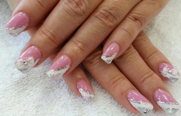 Diseños para manicure novia