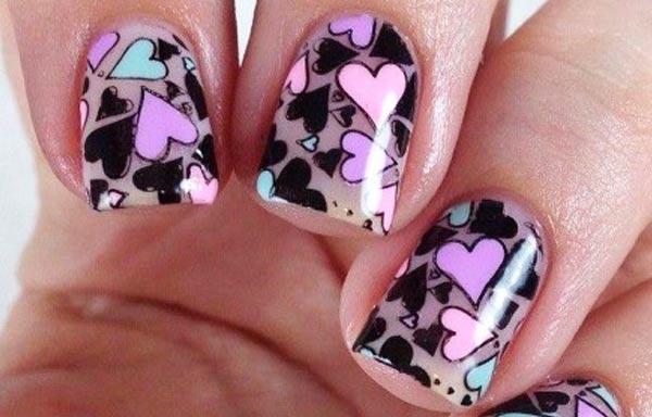 Diseños para manicure quinceañeras