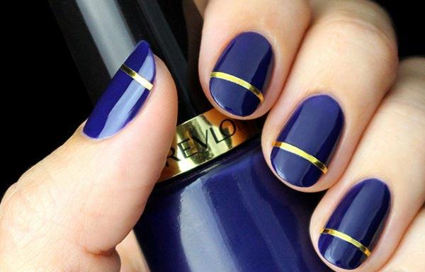 diseños para manicure sencillos